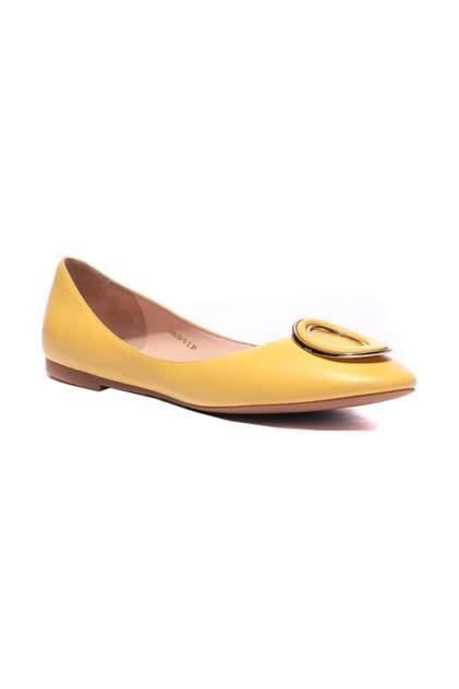 Балетки женские Vitacci 7905_3 желтые 36 RU