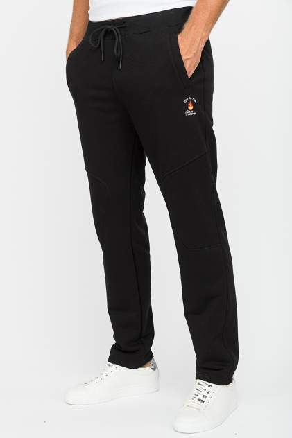 Спортивные брюки мужские Peche Monnaie Fire in me черные 2XL