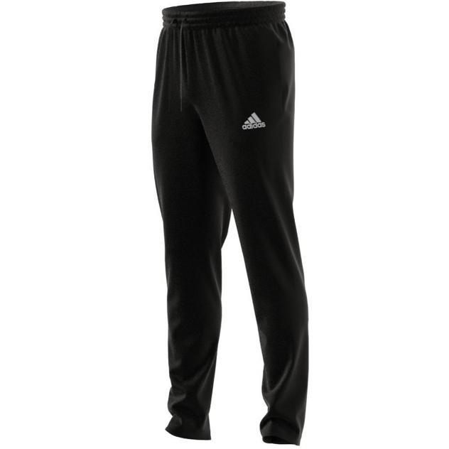 Спортивные брюки Adidas Essentials Tapered Open Hem Small Logo Pants, черный