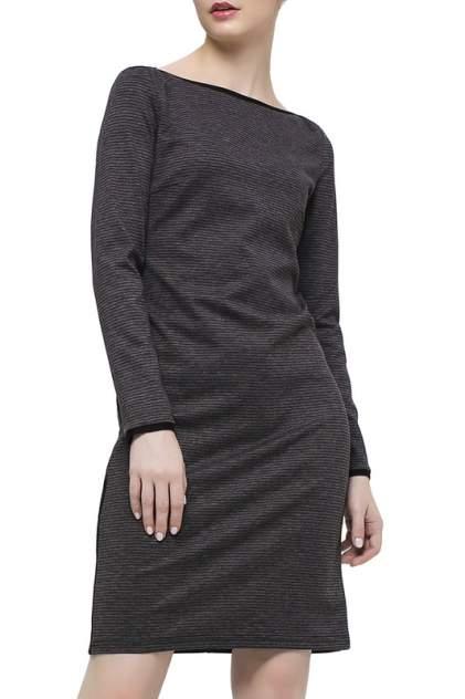 Повседневное платье женское Модный дом виктории тишиной СЛАВИ 326-18-1 серое XL-170