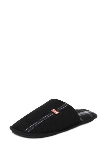Мужские домашние тапочки T.Taccardi CJI21AW-38, черный