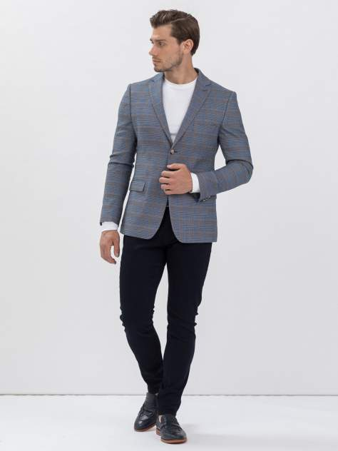 Пиджак мужской Marc De Cler Pi 2190-24602-176, голубой