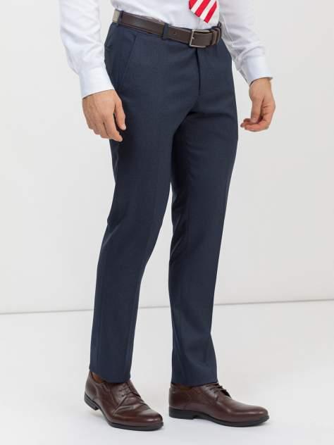Классические брюки мужские Marc De Cler B-Prius-1082navy-176 синие 44 RU