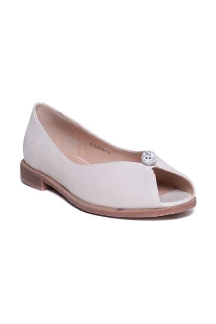 Туфли женские CESARE GASPARI XD1338-HX1263 белые 39 RU