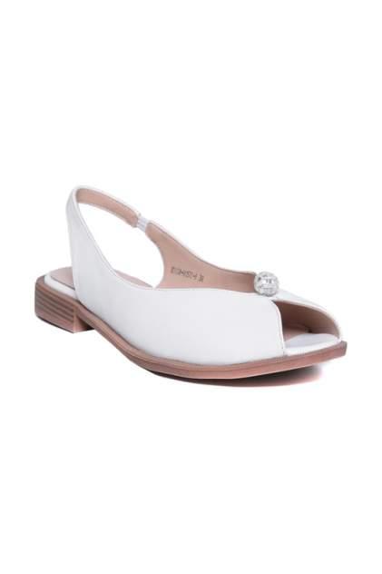 Туфли женские CESARE GASPARI XD1338-HX1572 белые 39 RU