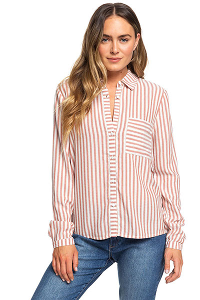 Рубашка с длинным рукавом Seaside Roxy, мультиколор, XS
