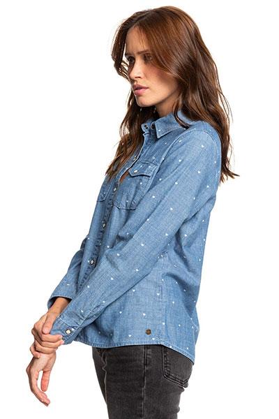 Рубашка с длинным рукавом Paradisiac Cascade Roxy, голубой, XS