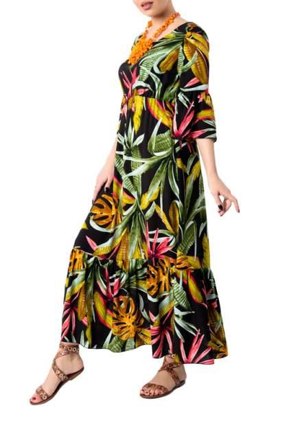 Женское платье Hestollina OS-121-2, черный
