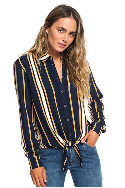 Женская рубашка с длинным рукавом Suburb Vibes, синий, S