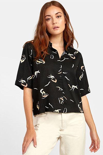 Рубашка Foreign, черный, L