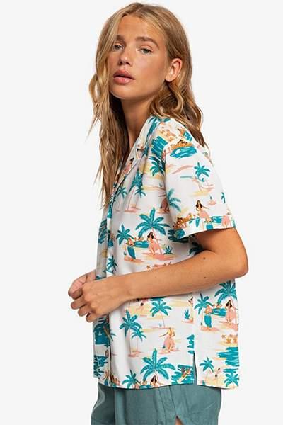 Женская рубашка с коротким рукавом Remind To Forget Roxy ERJWT03396, L