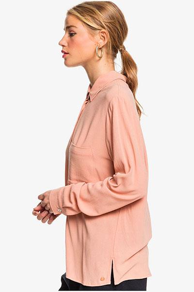 Женская рубашка с длинным рукавом Mess Is Mine Roxy, кремовый, S