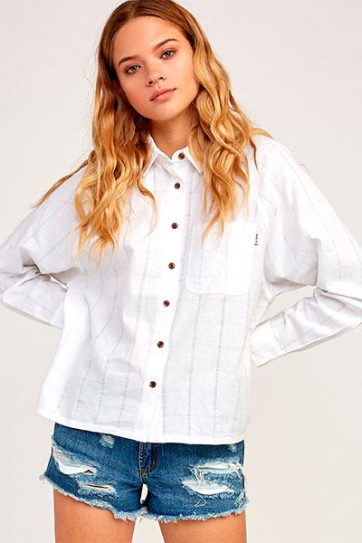 Рубашка RVCA Winging It, белый, L
