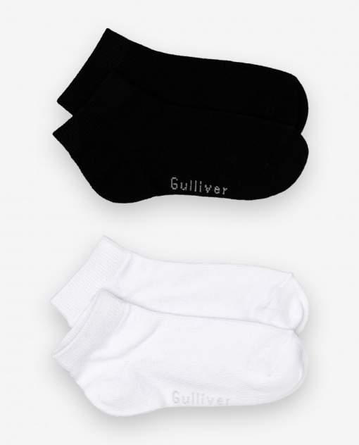 Носки детские 2 пары Gulliver, цв. черный р.14-16