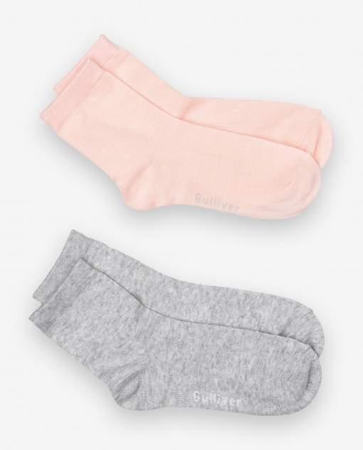 Носки детские 2 пары Gulliver, цв. розовый р.26-28