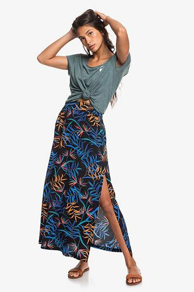 Женская юбка Tropical Chancer Roxy, мультиколор, L