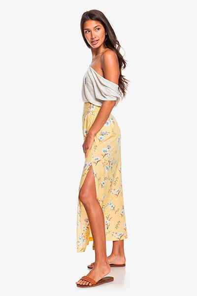 Женская юбка Tropical Chancer Roxy, светло-желтый, L
