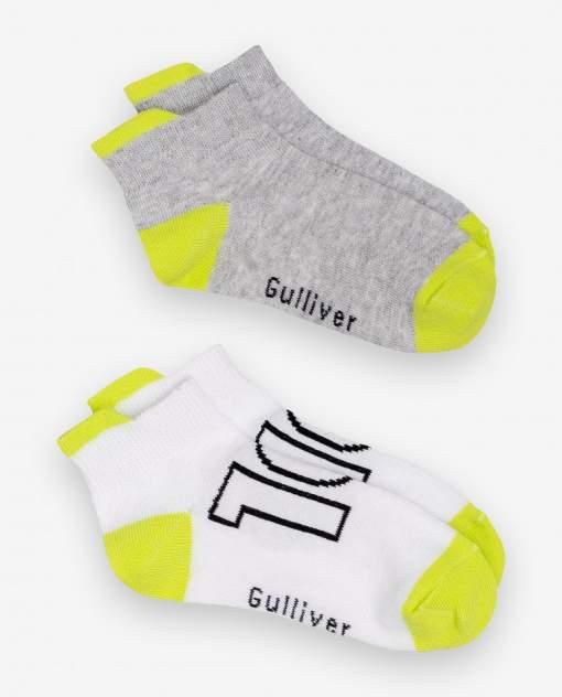 Носки детские 2 пары Gulliver, цв. серый р.14-16