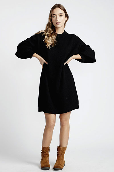 Женское платье Billabong Ride Babe Q3DR02-BIF9, черный