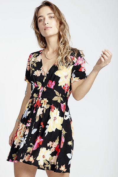 Платье Twirl Twist, черный, L