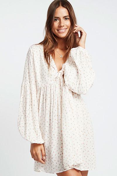 Платье женское Blissfull 4194, белый, L