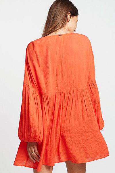 Платье женское Blissfull Samba, оранжевый, L