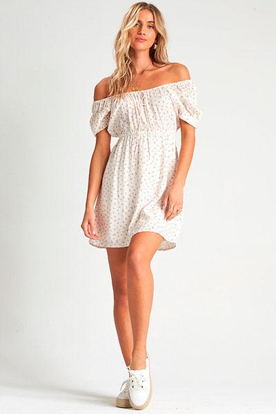 Женское платье Billabong Fall For Love 4194 S3DR23-BIP0, белый