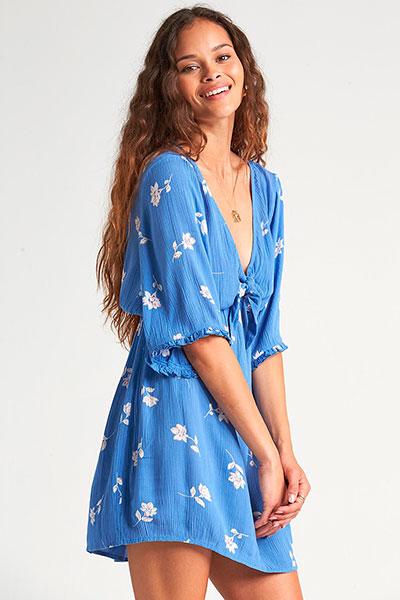 Платье женское Gone Skippin 4337, голубой, L