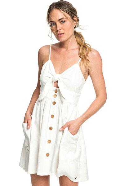 Женское платье Roxy Under The Cali Sun ERJWD03335, белый