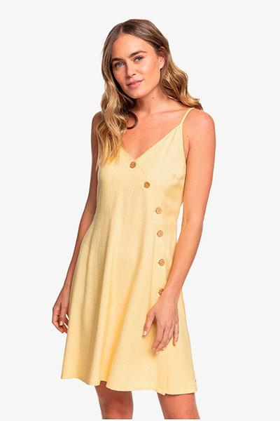 Женское платье Roxy Sun May Shine ERJWD03422, желтый