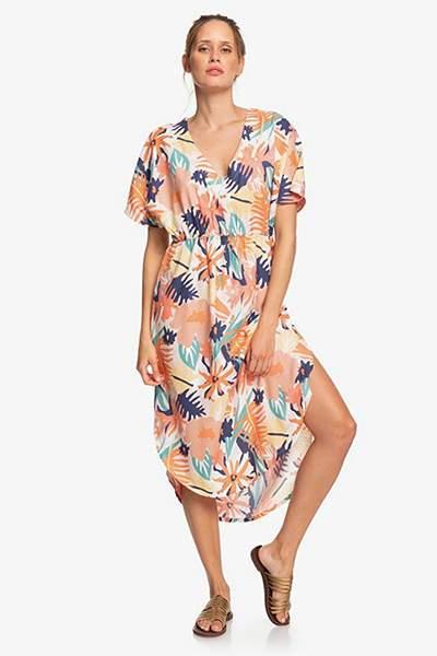 Платье женское Roxy Flamingo Shades ERJWD03428 разноцветное XS