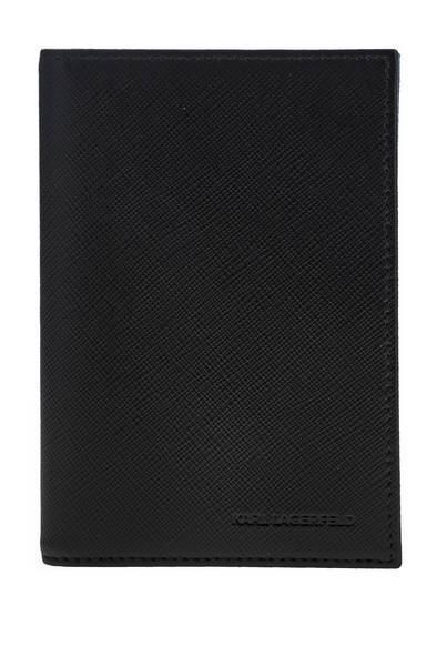 Обложка для паспорта мужская Karl Lagerfeld 815416 502461 черная