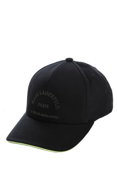 Бейсболка мужская Karl Lagerfeld 805622 502123 черная