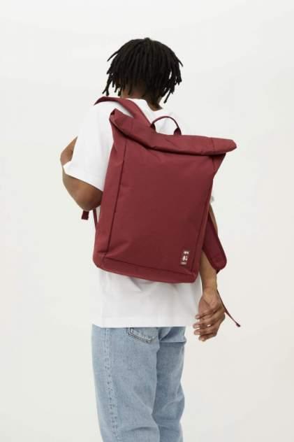 Рюкзак мужской Lefrik Roll бордовый
