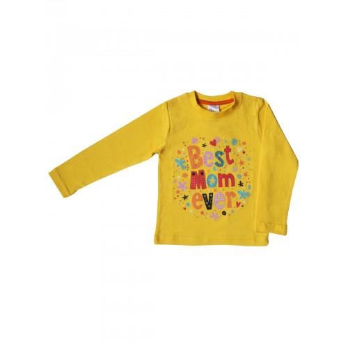 Джемпер для девочек Bella veza, цв. желтый, р-р 104
