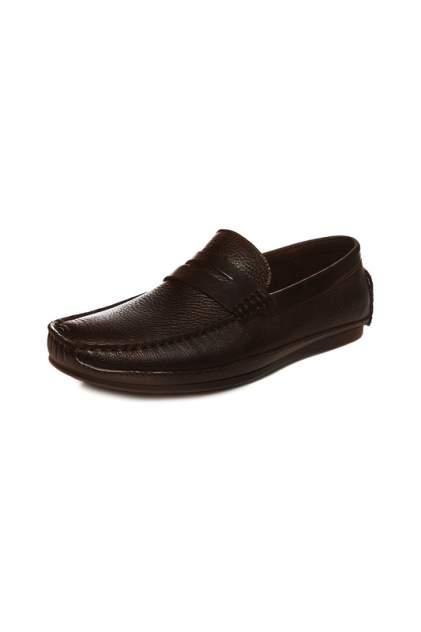 Мокасины мужские EL'ROSSO 803-1256 коричневые 39 RU