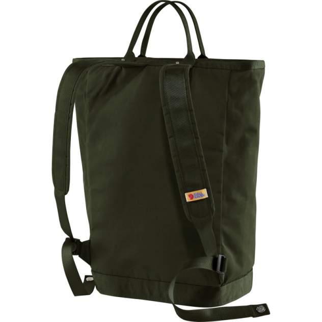 Рюкзак мужской Fjallraven Vardag Totepack зеленый