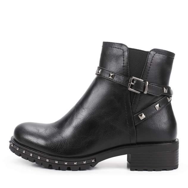 Ботинки женские INSTREET 199-33WN-009SR черные 36 RU