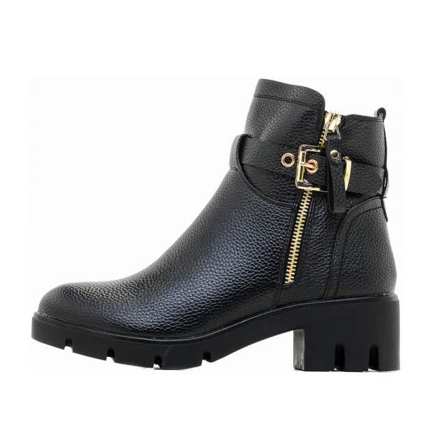 Ботинки женские INSTREET 199-82WN-018SR черные 36 RU