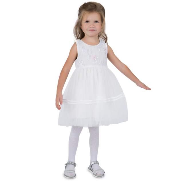 Платье детское Santa&Barbara, цв.белый
