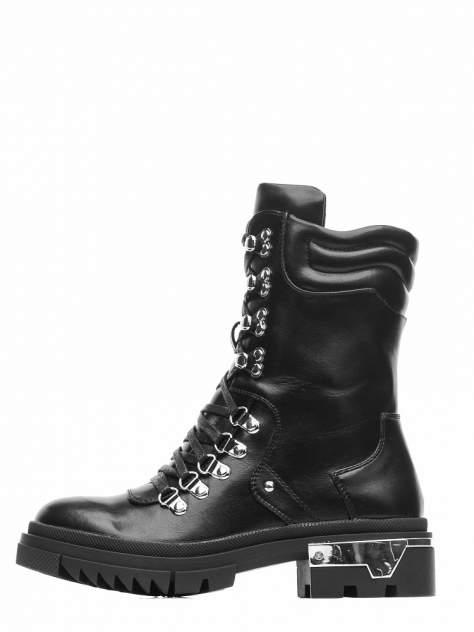 Ботинки женские INSTREET 199-92WN-017SR черные 36 RU
