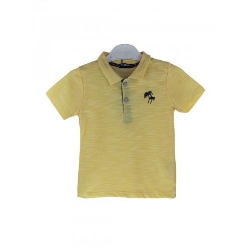 Рубашка поло для мальчиков TUFFY, цв. желтый, р-р 98