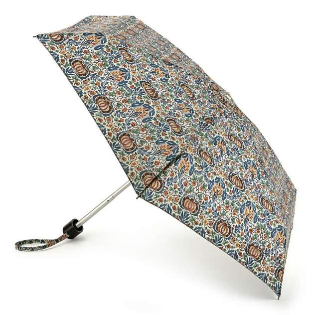 Зонт складной женский механический Fulton L713-3748 синий