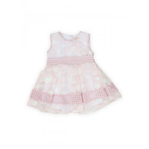 Нарядное платье VERSCON, цв. розовый, р-р 92