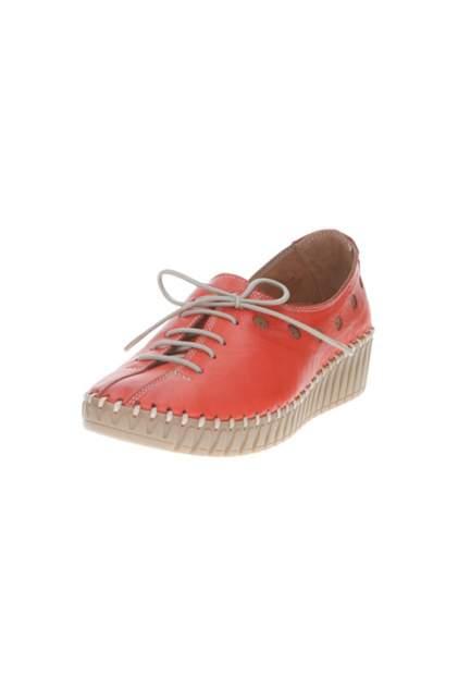 Полуботинки женские Goergo 398-307-9 красные 40 RU