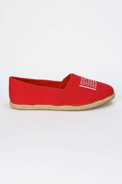 Эспадрильи женские Keddo 807130/01 красные 38 RU