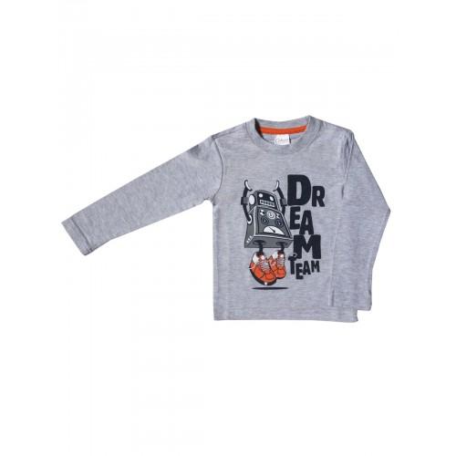 Джемпер для мальчиков Bella veza, цв. серый, р-р 104