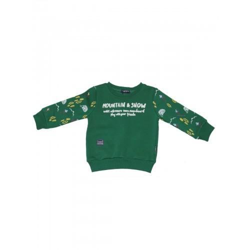 Джемпер для мальчиков TUFFY, цв. зелёный, р-р 92