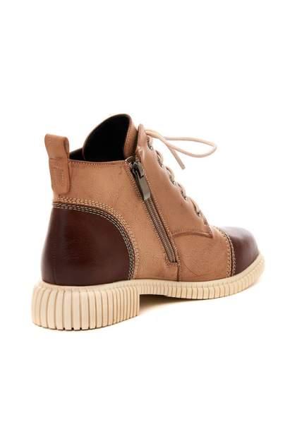 Ботинки женские GUSTO ECCELLENTE 2153W-2698T-8KV коричневые 37 RU