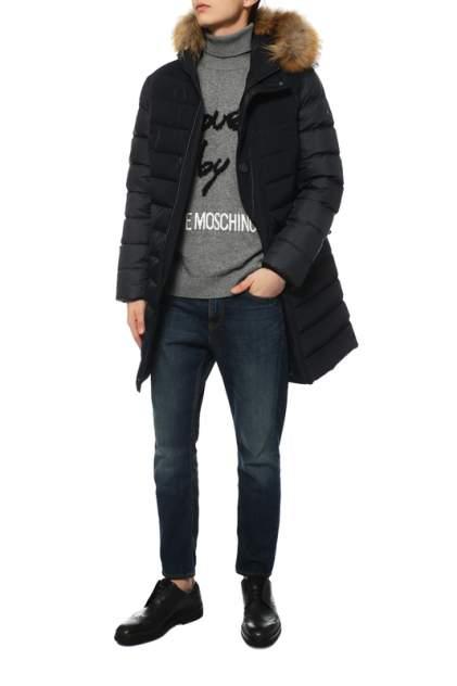 Куртка мужская Madzerini LUCIANO синяя 54 IT